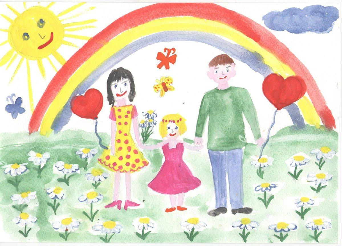 пример детского рисунка