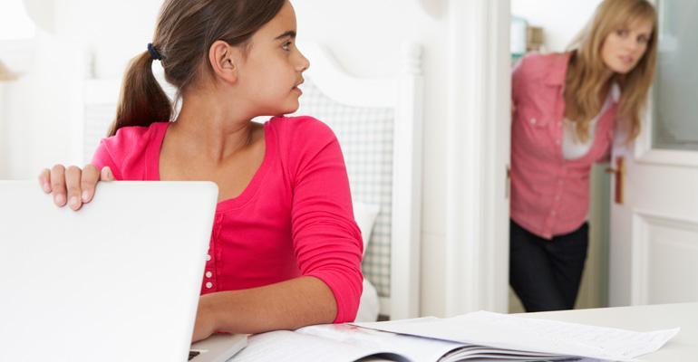 ребенок и контроль родителей