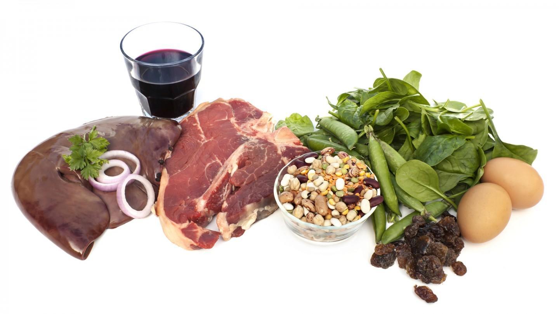 питание при анемии беременных