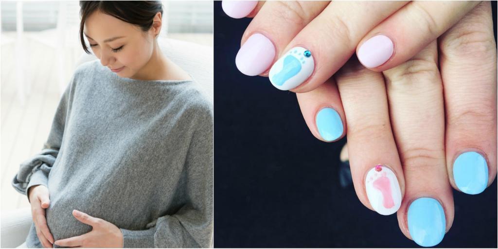 можно ли красить ногти при беременности