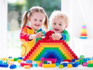 дети и конструктор