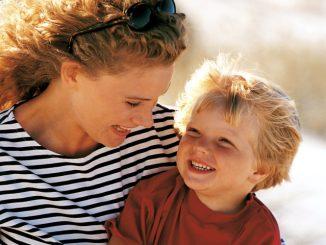 мальчик с мамочкой