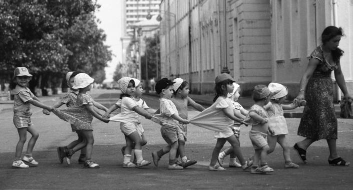 малыши из детского сада