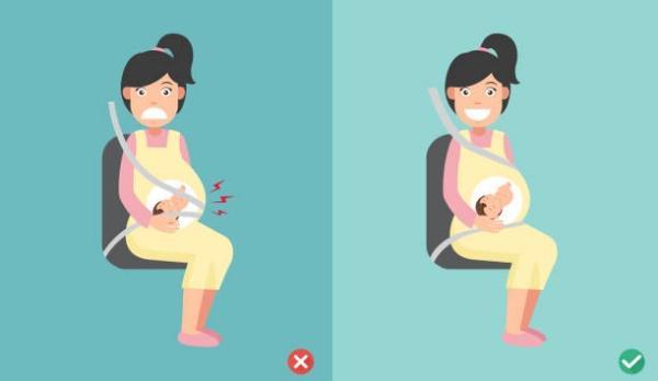 ремни безопасности при беременности