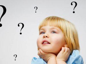 ребенок задает много вопросов