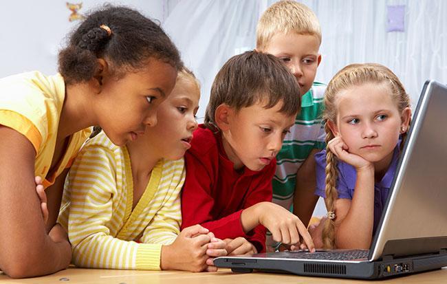 подростки и компьютер
