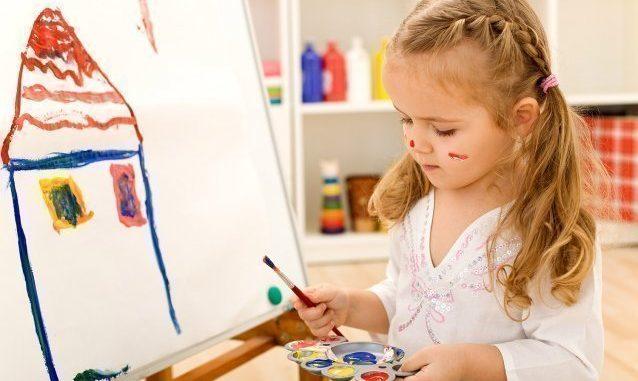 дети и рисунок