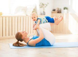 Восстановление фигуры после родов: когда приступать