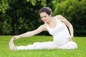 Спортивные занятия приносят пользу во время ожидания малыша.