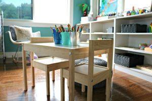 Как выбрать стол для ребенка: материал, размер, качество